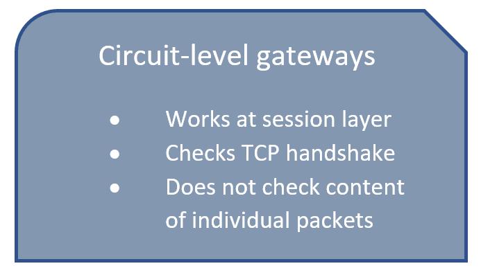 circuit level gateway