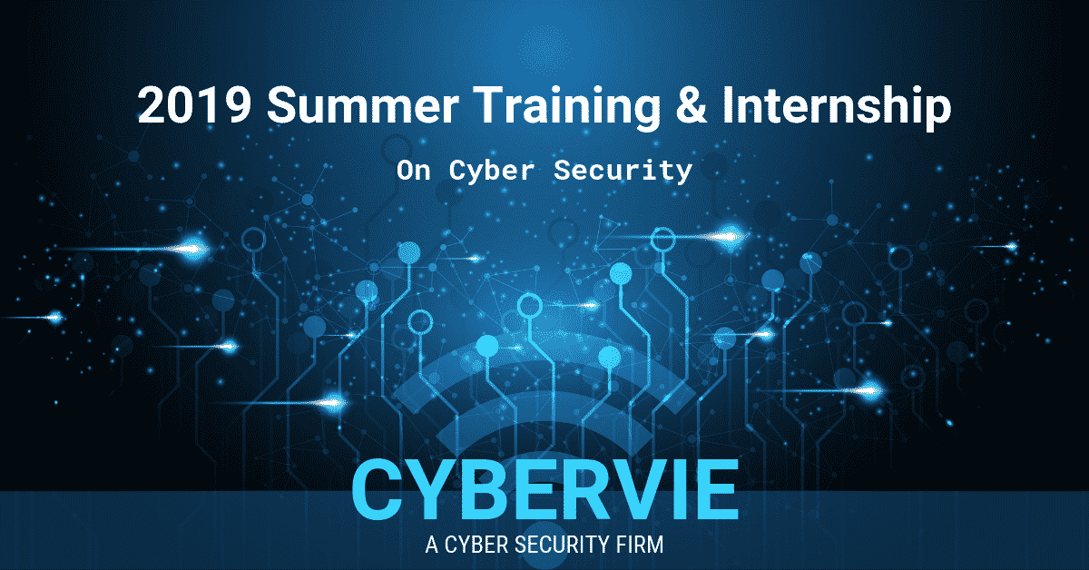 Cyber Security Summer Training & Internship
