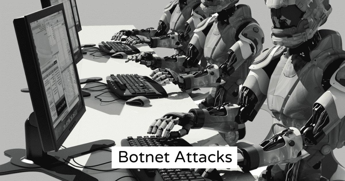 Robots Performing Botnet Attacks