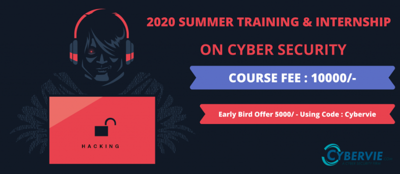 Cyber Security Summer Internship