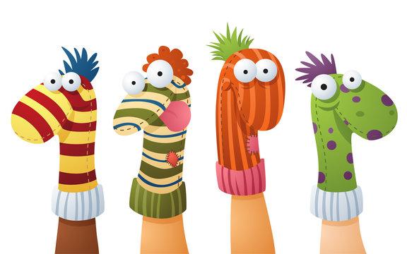 Original sock puppets