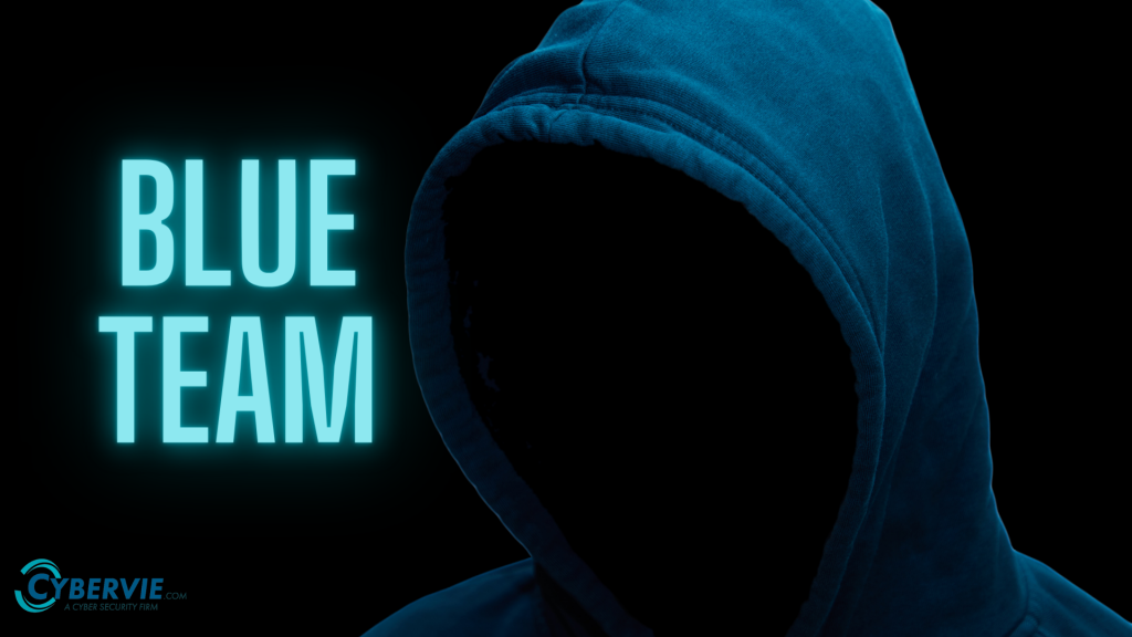 Blue team banner