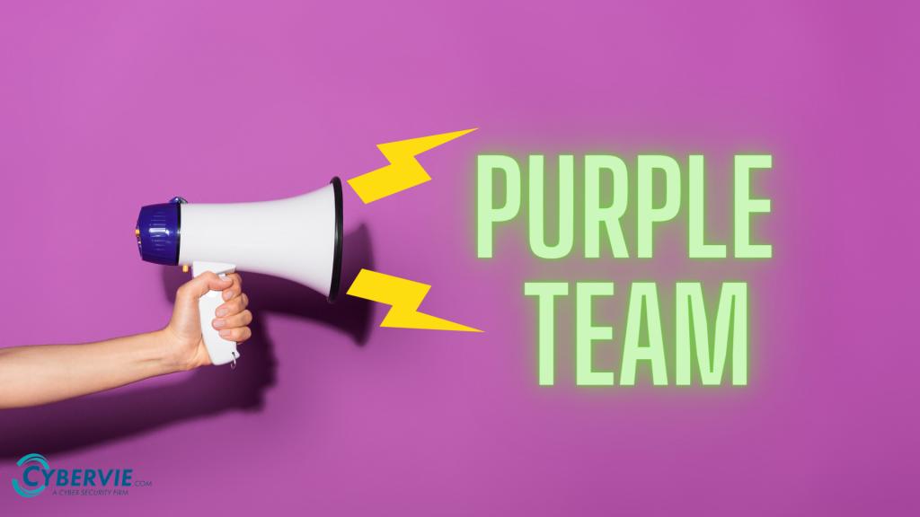 Purple Team banner