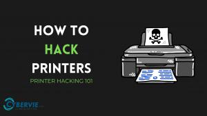 hack printer