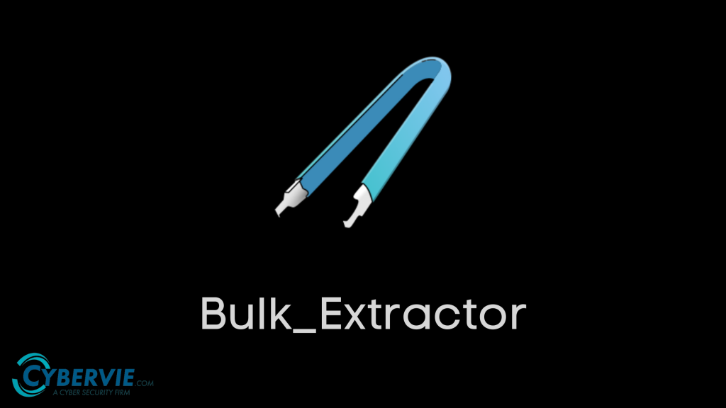 Bulk_extractor banner    Cybervie