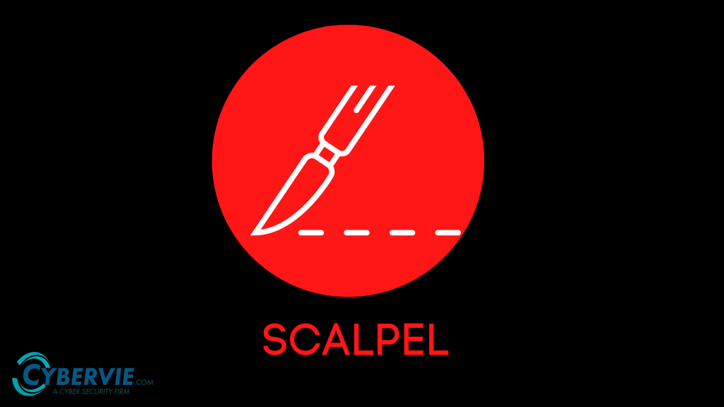 scalpel   File Carving tool   Cybervie