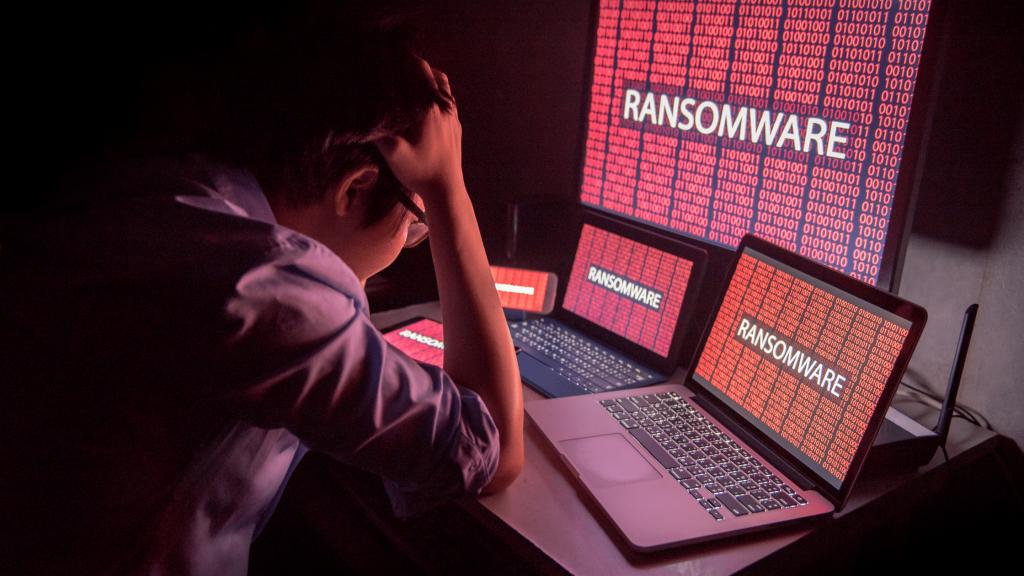 Ransomware attack   Cybervie