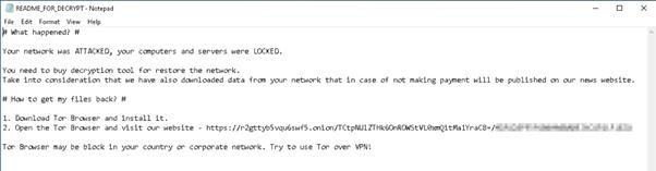 Diavol Ransomware information   Cybervie
