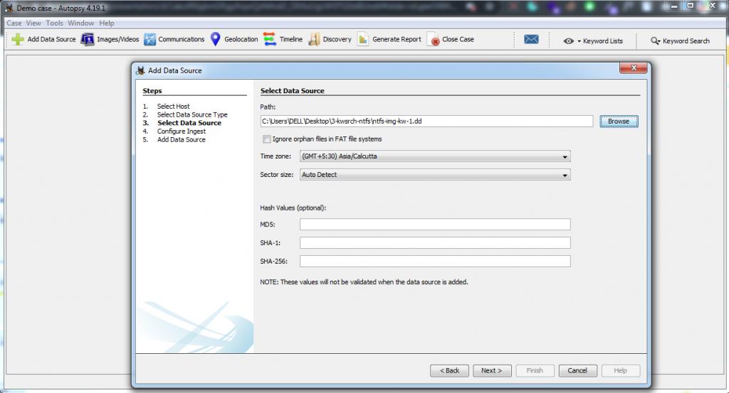 Select DATA Source  Cybervie