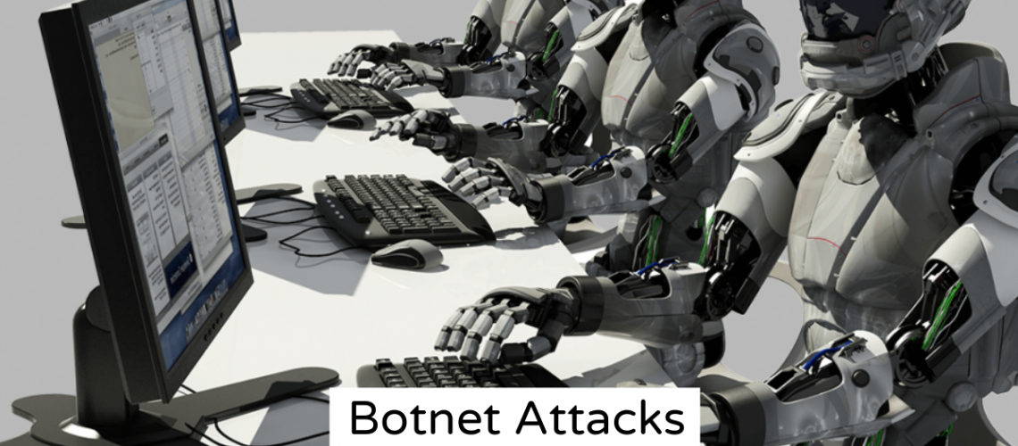 Robots Performing Botnet Attacks