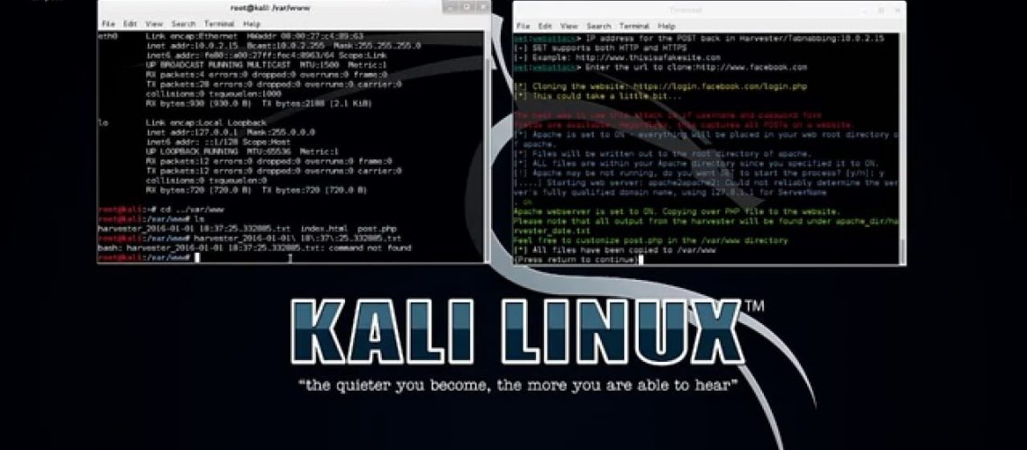 Phishing Attack - Step by step Demo using Kali Linux Free